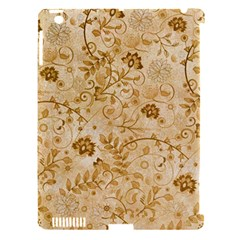 Flower Pattern In Soft  Colors Apple iPad 3/4 Hardshell Case (Compatible with Smart Cover)