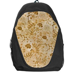 Flower Pattern In Soft  Colors Backpack Bag
