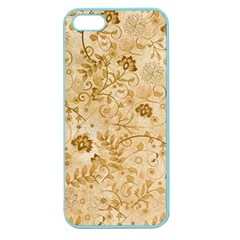 Flower Pattern In Soft  Colors Apple Seamless iPhone 5 Case (Color)