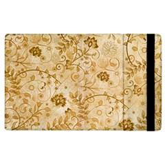 Flower Pattern In Soft  Colors Apple iPad 2 Flip Case