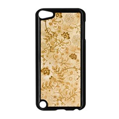 Flower Pattern In Soft  Colors Apple Ipod Touch 5 Case (black)
