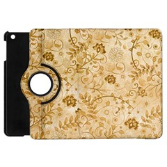 Flower Pattern In Soft  Colors Apple iPad Mini Flip 360 Case