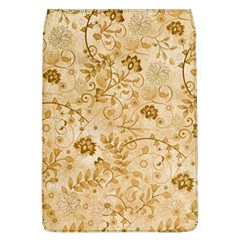 Flower Pattern In Soft  Colors Flap Covers (L)