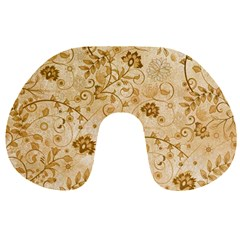 Flower Pattern In Soft  Colors Travel Neck Pillows