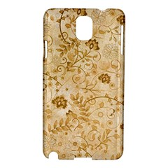 Flower Pattern In Soft  Colors Samsung Galaxy Note 3 N9005 Hardshell Case