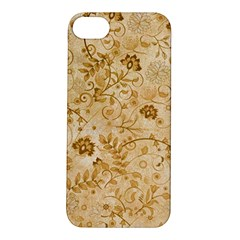 Flower Pattern In Soft  Colors Apple iPhone 5S Hardshell Case
