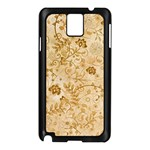Flower Pattern In Soft  Colors Samsung Galaxy Note 3 N9005 Case (Black) Front