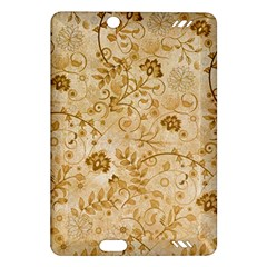 Flower Pattern In Soft  Colors Kindle Fire HD (2013) Hardshell Case