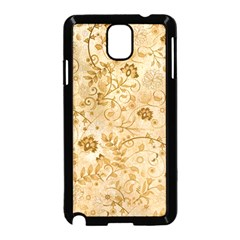 Flower Pattern In Soft  Colors Samsung Galaxy Note 3 Neo Hardshell Case (Black)