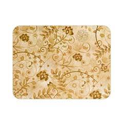 Flower Pattern In Soft  Colors Double Sided Flano Blanket (Mini)