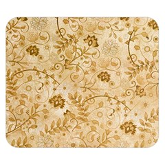 Flower Pattern In Soft  Colors Double Sided Flano Blanket (Small)