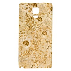 Flower Pattern In Soft  Colors Galaxy Note 4 Back Case