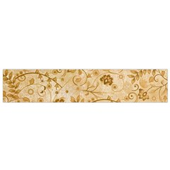 Flower Pattern In Soft  Colors Flano Scarf (small)