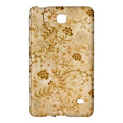 Flower Pattern In Soft  Colors Samsung Galaxy Tab 4 (8 ) Hardshell Case