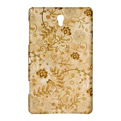 Flower Pattern In Soft  Colors Samsung Galaxy Tab S (8.4 ) Hardshell Case