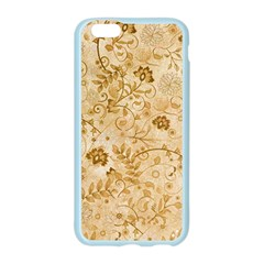 Flower Pattern In Soft  Colors Apple Seamless iPhone 6 Case (Color)