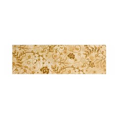 Flower Pattern In Soft  Colors Satin Scarf (Oblong)
