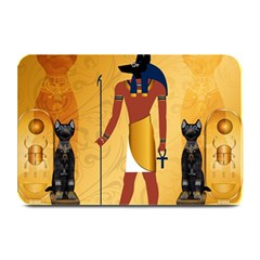 Anubis, Ancient Egyptian God Of The Dead Rituals  Plate Mats