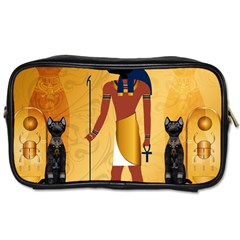 Anubis, Ancient Egyptian God Of The Dead Rituals  Toiletries Bags 2-Side