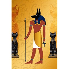 Anubis, Ancient Egyptian God Of The Dead Rituals  5.5  x 8.5  Notebooks