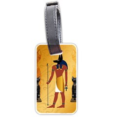 Anubis, Ancient Egyptian God Of The Dead Rituals  Luggage Tags (Two Sides)