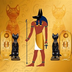 Anubis, Ancient Egyptian God Of The Dead Rituals  Magic Photo Cubes