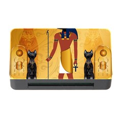 Anubis, Ancient Egyptian God Of The Dead Rituals  Memory Card Reader with CF