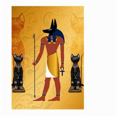 Anubis, Ancient Egyptian God Of The Dead Rituals  Large Garden Flag (two Sides)
