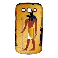 Anubis, Ancient Egyptian God Of The Dead Rituals  Samsung Galaxy S III Classic Hardshell Case (PC+Silicone)