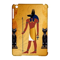 Anubis, Ancient Egyptian God Of The Dead Rituals  Apple iPad Mini Hardshell Case (Compatible with Smart Cover)
