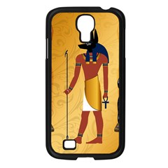 Anubis, Ancient Egyptian God Of The Dead Rituals  Samsung Galaxy S4 I9500/ I9505 Case (Black)