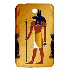 Anubis, Ancient Egyptian God Of The Dead Rituals  Samsung Galaxy Tab 3 (7 ) P3200 Hardshell Case