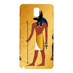 Anubis, Ancient Egyptian God Of The Dead Rituals  Samsung Galaxy Note 3 N9005 Hardshell Back Case