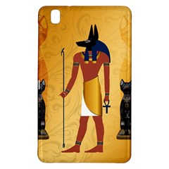 Anubis, Ancient Egyptian God Of The Dead Rituals  Samsung Galaxy Tab Pro 8.4 Hardshell Case