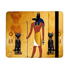 Anubis, Ancient Egyptian God Of The Dead Rituals  Samsung Galaxy Tab Pro 8 4  Flip Case