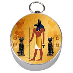 Anubis, Ancient Egyptian God Of The Dead Rituals  Silver Compasses