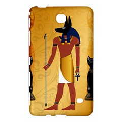 Anubis, Ancient Egyptian God Of The Dead Rituals  Samsung Galaxy Tab 4 (7 ) Hardshell Case