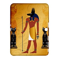 Anubis, Ancient Egyptian God Of The Dead Rituals  Samsung Galaxy Tab 4 (10.1 ) Hardshell Case
