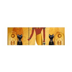 Anubis, Ancient Egyptian God Of The Dead Rituals  Satin Scarf (oblong)