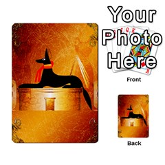 Anubis, Ancient Egyptian God Of The Dead Rituals  Multi-purpose Cards (Rectangle)
