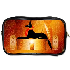 Anubis, Ancient Egyptian God Of The Dead Rituals  Toiletries Bags