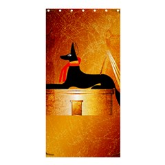 Anubis, Ancient Egyptian God Of The Dead Rituals  Shower Curtain 36  X 72  (stall)