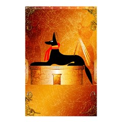 Anubis, Ancient Egyptian God Of The Dead Rituals  Shower Curtain 48  X 72  (small)