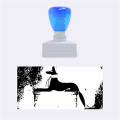 Anubis, Ancient Egyptian God Of The Dead Rituals  Rubber Stamps (Medium)