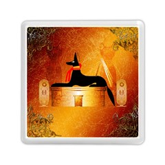 Anubis, Ancient Egyptian God Of The Dead Rituals  Memory Card Reader (Square)