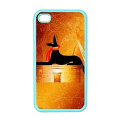 Anubis, Ancient Egyptian God Of The Dead Rituals  Apple iPhone 4 Case (Color)