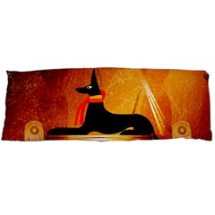 Anubis, ancient Egyptian god of the dead rituals  Body Pillow (Dakimakura) Case (Two Sides)