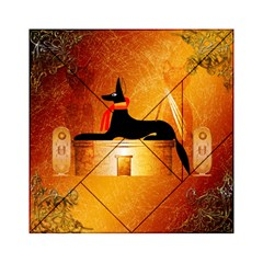 Anubis, Ancient Egyptian God Of The Dead Rituals  Acrylic Tangram Puzzle (6  x 6 )
