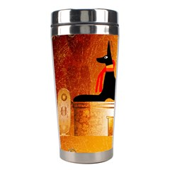 Anubis, Ancient Egyptian God Of The Dead Rituals  Stainless Steel Travel Tumblers