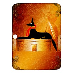 Anubis, Ancient Egyptian God Of The Dead Rituals  Samsung Galaxy Tab 3 (10.1 ) P5200 Hardshell Case